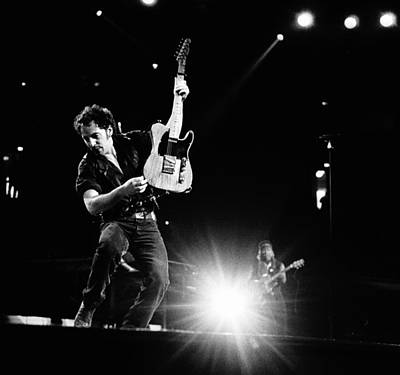 Photograph - Photo Of Bruce Springsteen by Paul Bergen