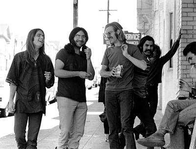 Photograph - Photo Of Grateful Dead by Michael Ochs Archives