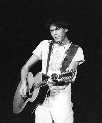 Neil Young Wall Art - Photograph - Photo Of Neil Young by Michael Ochs Archives