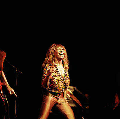Photograph - Photo Of Tina Turner by David Redfern