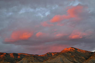 Photograph - Pink Clouds Over Book Cliffs by Ray Mathis