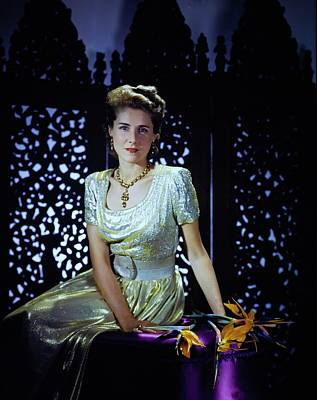 Photograph - Playwright Clare Boothe Luce by Horst P. Horst
