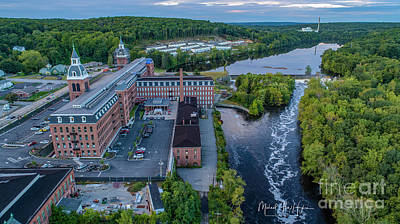 Photograph - Ponemah Mill by Michael Hughes