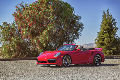 Photograph - #porsche 911 #turbo S Cab #print by ItzKirb Photography