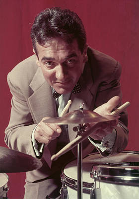 Photograph - Portrait Of Gene Krupa by Eliot Elisofon