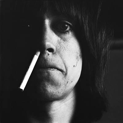 Photograph - Portrait Of Iggy Pop by Jack Robinson