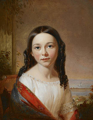 Painting - Portrait Of Maria Seabury by William Sidney Mount