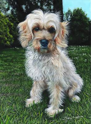 Painting - Portrait Of Toffee by John Neeve