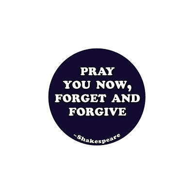 Polaroid Camera - Pray you now, forget and forgive #shakespeare #shakespearequote by TintoDesigns