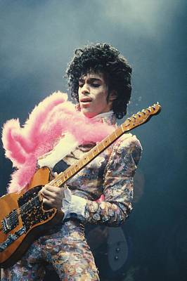 Photograph - Prince Live At The Forum by Michael Ochs Archives