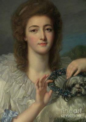 Painting - Princess Varvara Nikolaevna Gagarina by Jean Baptiste Greuze