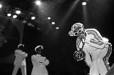 Photograph - Public Enemy Perform At Docklands Arena by Martyn Goodacre