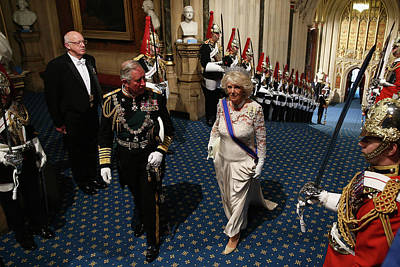 Photograph - Queen Elizabeth II Attends The State by Dan Kitwood