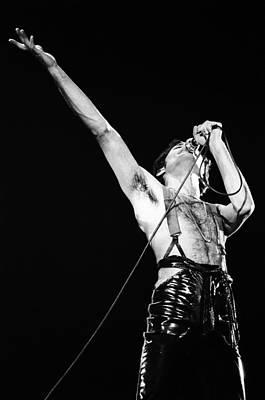 Freddie Mercury Wall Art - Photograph - Queen Live by Ed Perlstein