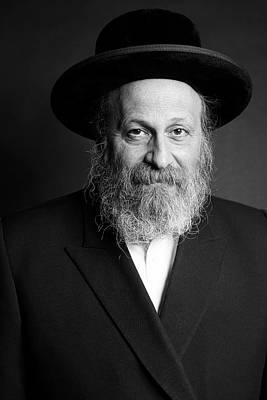 Photograph - Rabbi Moshe Weinberger by Marko Dashev
