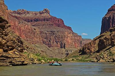 Photograph - Rafting The Colorado River by Walt Sterneman