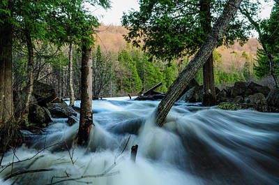 Photograph - Raquette River by Bob Grabowski
