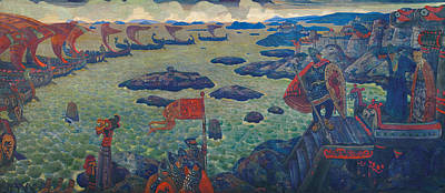 Painting - Ready For The Campaign  by Nicholas Roerich