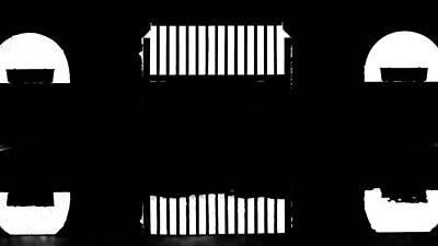 Photograph - Reflexion En Noir Et Blanc by Jorg Becker