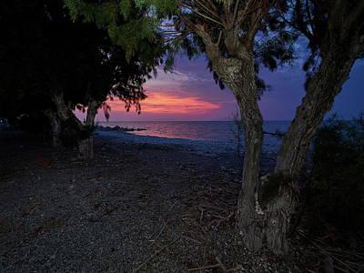 Priska Wettstein Pink Hues - Rhodes sunset by Jouko Lehto