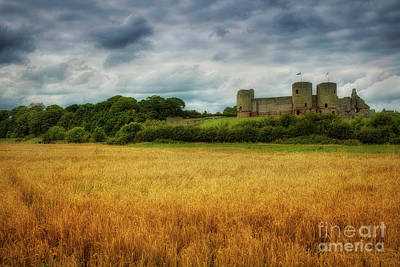 Photograph - Rhuddlan Castle by Ian Mitchell