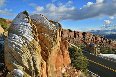 Photograph - Rim Rock Drive Of Colorado National Monument by Ray Mathis
