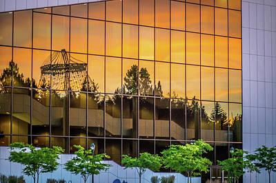 Photograph - Riverfront Park In Spokane, Wa by Alex Grichenko