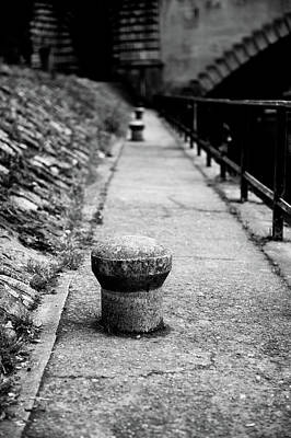 Photograph - Riverside Bollard by Helen Northcott