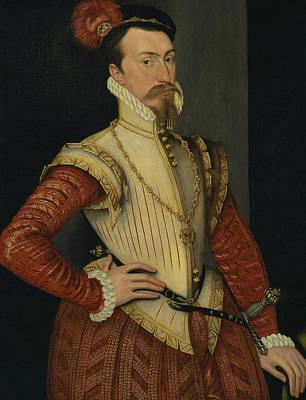 Painting - Robert Dudley, 1st Earl Of Leicester by Steven van der Meulen