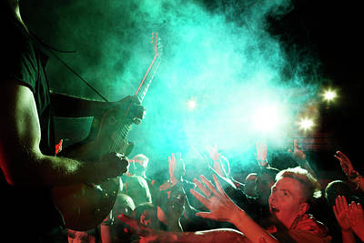 Photograph - Rock Concert by Henrik Sorensen