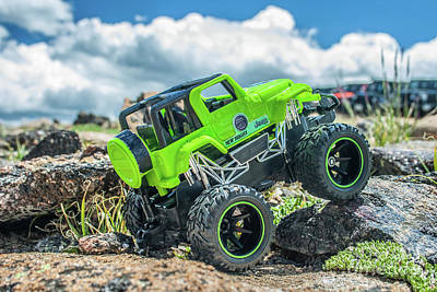 Photograph - Rock Crawlin by Tony Baca