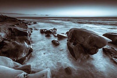 Photograph - Rock Ledge by Peter Tellone