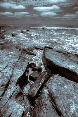 Photograph - Rocky Cove by Peter Tellone