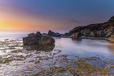 Photograph - Rocky Headland Seascape by Merrillie Redden