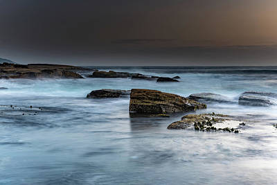 Photograph - Rocky Seascape by Merrillie Redden