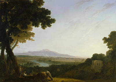 Painting - Rome From The Villa Madama by Richard Wilson
