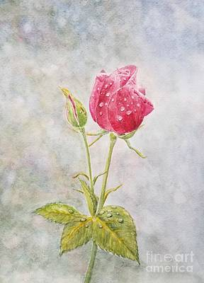 Wall Art - Painting -  Roses Are Red by Jane Powell