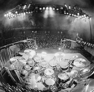 England Photograph - Rush In Concert by Fin Costello