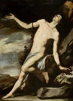 Painting - Saint Sebastian by Jose de Ribera