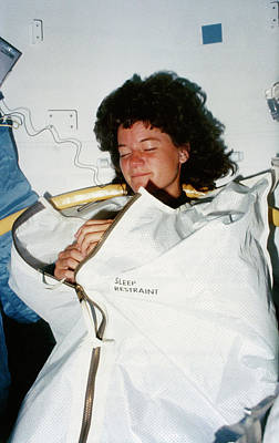 Photograph - Sally Ride by Space Frontiers