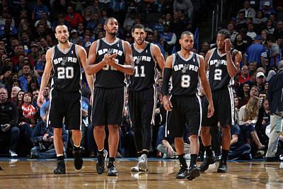 Photograph - San Antonio Spurs V Oklahoma City by Layne Murdoch