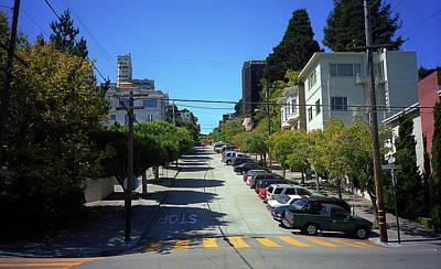 Photograph - San Francisco Streets 2007 #14 by Frank Romeo