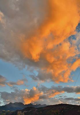 Photograph - San Juan Mountain Sunset by Ray Mathis