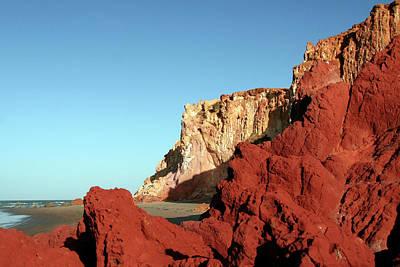 Photograph - Sand Cliffs by C. Quandt Photography