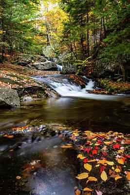 Photograph - Sandwich Notch Road Waterfall New Hampshire by Jeff Folger