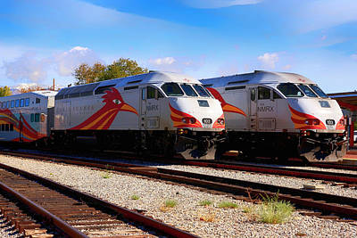 Photograph - Santa Fe Rail Runner by Chris Smith
