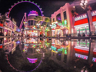Photograph - Scenes Around Las Vegas Nevada by Alex Grichenko