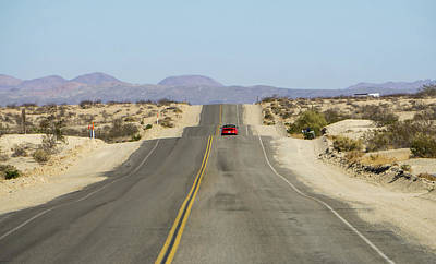 Photograph - Scenes On Old Route 66 In California by Alex Grichenko
