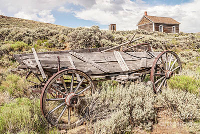 Photograph - Schoolhouse On A Hill by Sue Smith