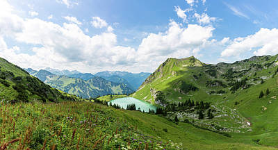 Photograph - Seealpsee, Allgaeu Alps by Andreas Levi